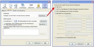 Firefox Proxy deaktivieren im Standard