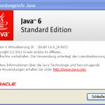 Java Versionsinfo