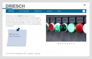 Webseite Driesch.de