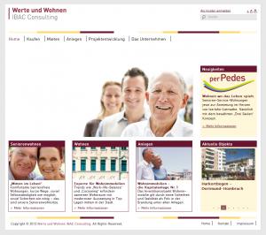 Webseite von WuW-IBAC.de