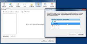 Thunderbird - Dropbox for Filelink