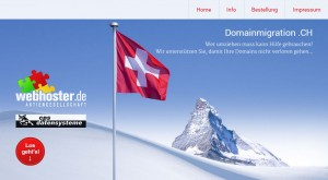 Webseite Domainmigration.ch