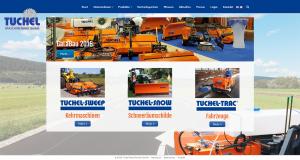Webseite - Tuchel Maschinenbau GmbH