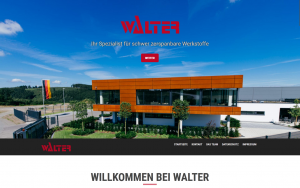 Webseite - Walter GmbH