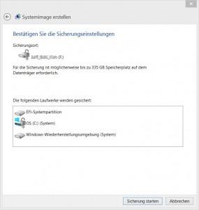 Windows Systemabbildsicherung als Backup mit Bordmitteln erstellen [4]